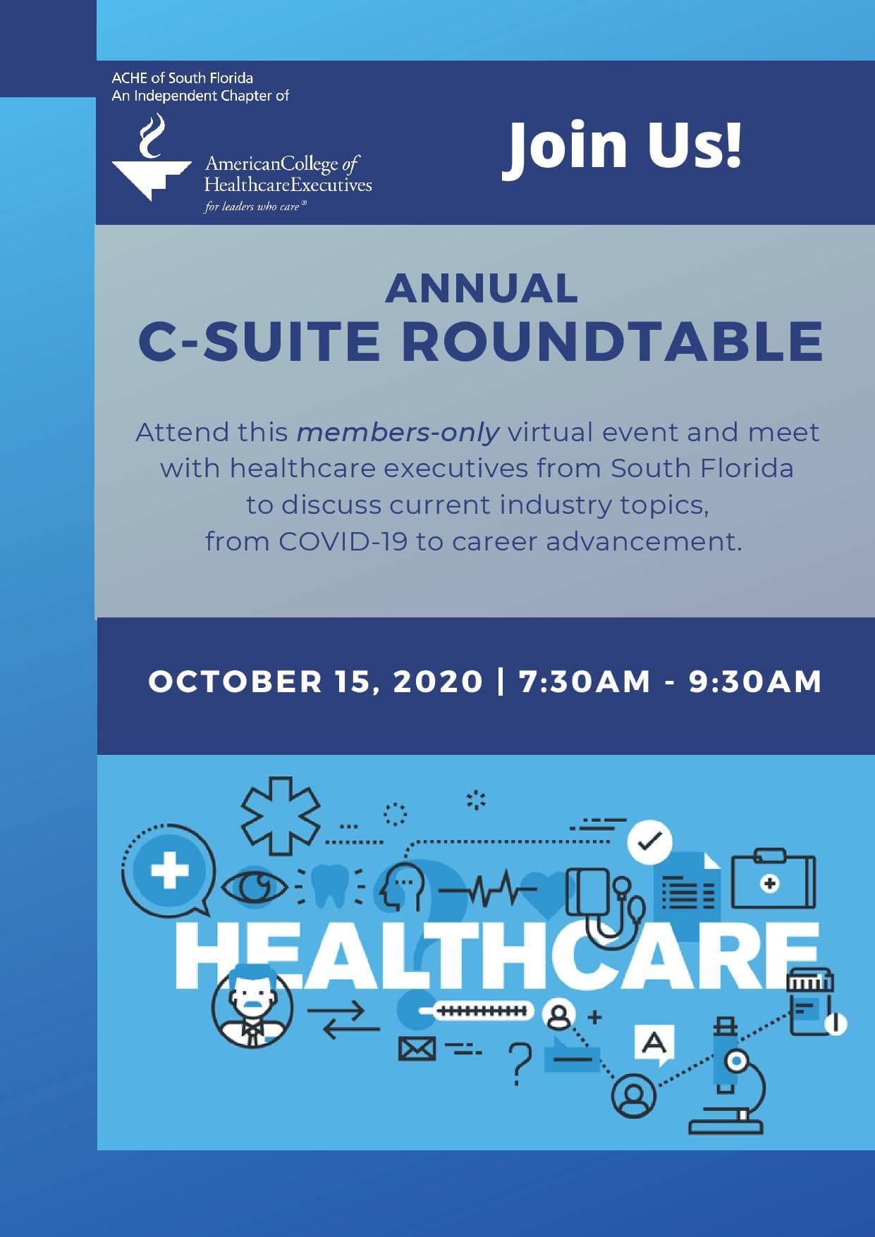 2020 C-Suite Roundtable Flyer